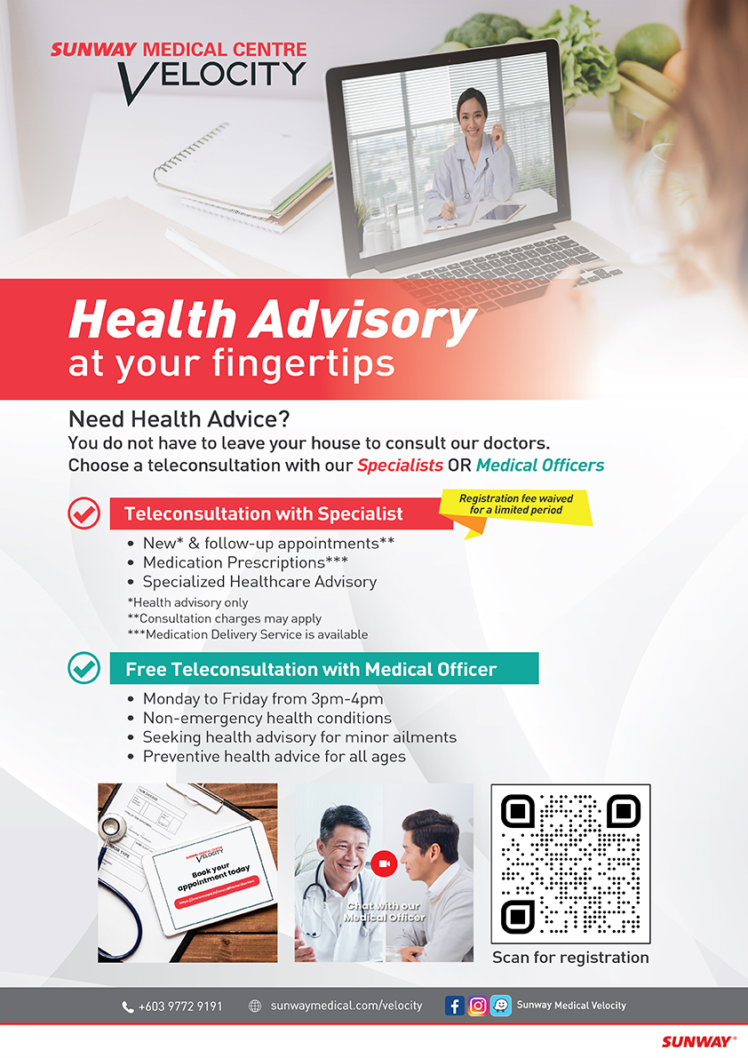 Sunway Medical Centre Velocity Virtual Clinic
