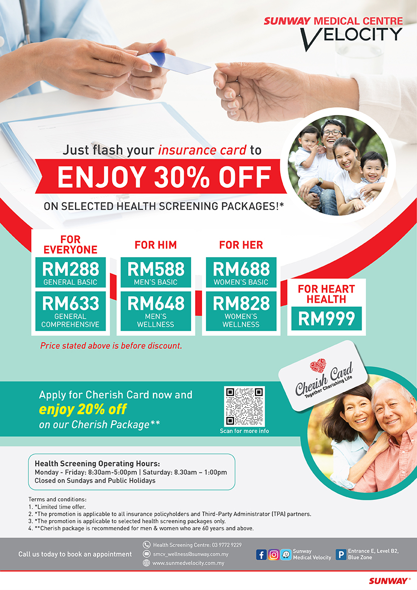 Flash Insurance / Medical Card for 30% Promo